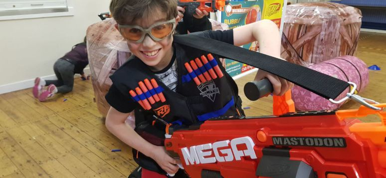 Nerf gun party kent